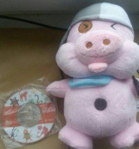 Новая Скрытая Вебкамера в виде свинки