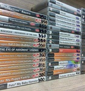 Лицензионные диски для PSP