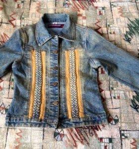 Джинсовые куртки для девочек новые