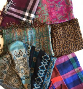 Новые палантины пашмина платки