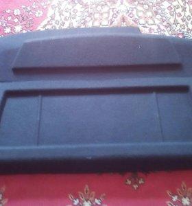 Полка задняя деревянная и пластиковая с приоры