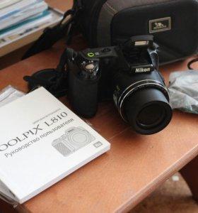 Nikon COOLPIX L810 с сумкой