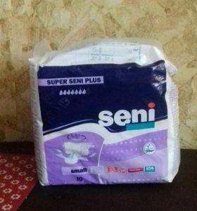 Подгузники для взрослых Seni, размер small 1