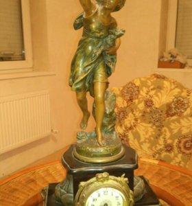 Старинные французские часы 19 век