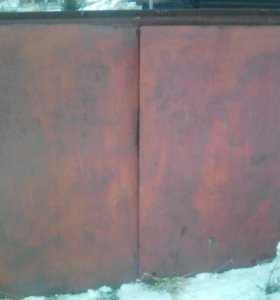 Вората гаражные длина 2 . 55 высота 2 . 15.