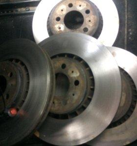 Тормозные диски вольво xc90