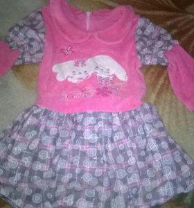 Платье на девочку до годика