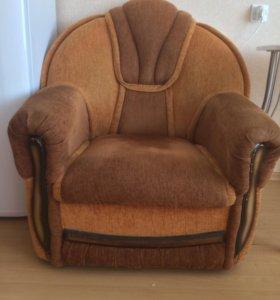 Диван раскладной с креслом