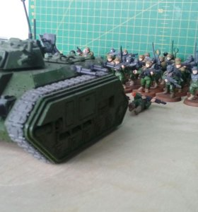 Миниатюры Warhammer 40000 astra militarum