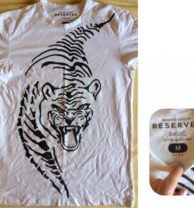 Новые мужские футболки M и L