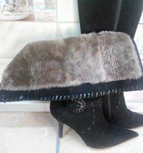 Сапоги, зима