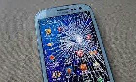 Битые экраны Samsung galaxy S4 и S5