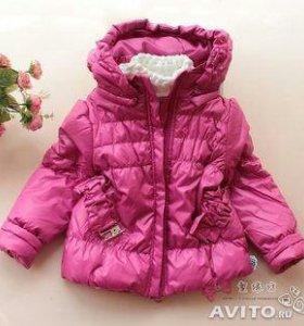 Куртка новая р.116