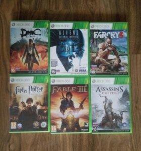 Игры на Xbox 360 обмен