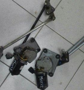 Тропеция стеклотчистителя с мотором (Матиз) Matiz