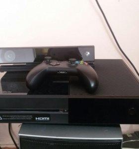 Xbox one + kinect 2.0. С играми и аксесс.