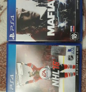 Игры на ps4, MAFIA 3, NHL16