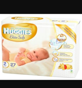 Huggies Elite Soft 27 шт