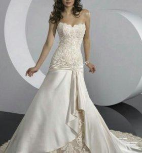 Свадебное платье 46-50 р-ра