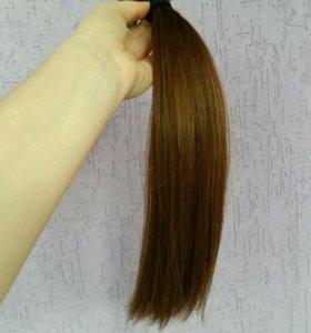 Волосы для наращивания  40 см на микролентах. Торг