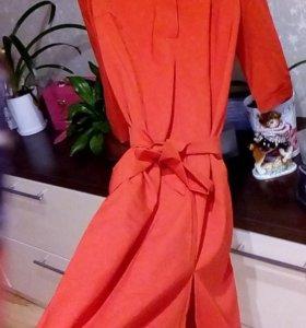 Платье -рубашка