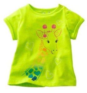 Новые футболочки для девочки