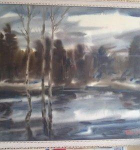Картины Я. А. Басова