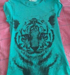 Милая футболка h&m