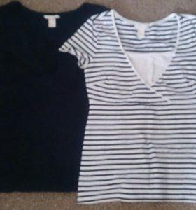 Комплект футболок для кормящих мамочек H&M 46-48 р