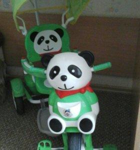 Детский велосипед Панда