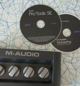 Звуковая карта M-audio mobile PRE MK II