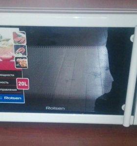 Микроволновая печь не большая