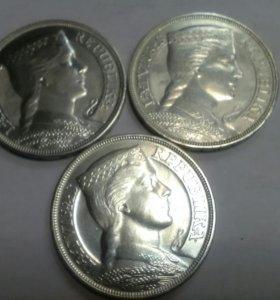 Монета 5 лат  1929 ,1931,1932 г