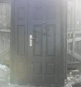 Дверь двухстворчатая.89514615610.сергей.
