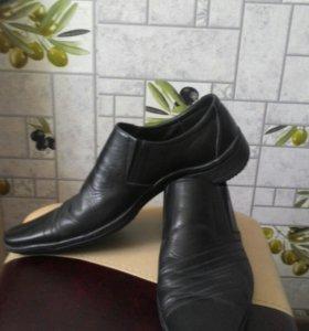 Мужские ботинки 41р-р.