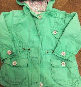 Куртка (парка) на весну для девочки