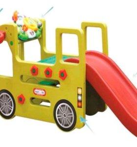 """Детский игровой комплекс Happy Box """"Автобус""""."""
