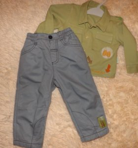 Костюм комплект на мальчика брюки рубашка