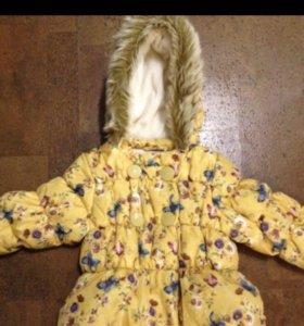 Куртка и брюки для девочки