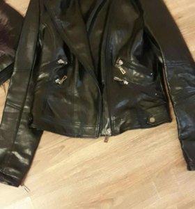 Куртка косуха кожзам