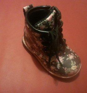 Весенняя обувь для девочки Новая