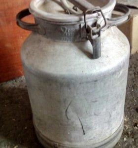Алюминиевая,пищевая фляга 40 л.