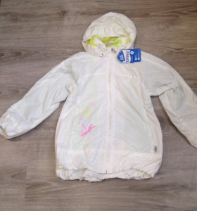 Новая ветровка/куртка Lassie для девочек на р 128