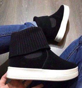 Новые ботиночки, р.36, по стельке 23,5 см