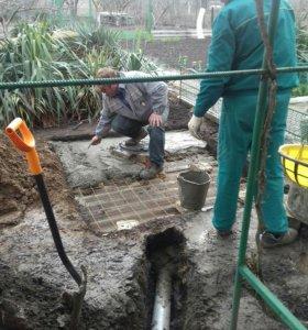 Монтаж канализации(водоотведение)