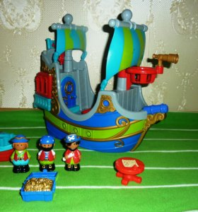 ELC Пиратский корабль полный набор в идеал сост