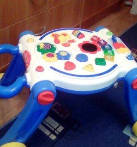 Ходунки-каталка-игровой столик