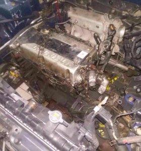 Разобранный двигатель Hyundai Sonata