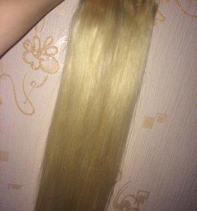 Натуральные волосы 70см