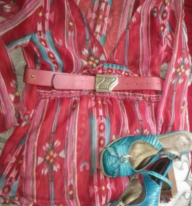 Блуза и туфли